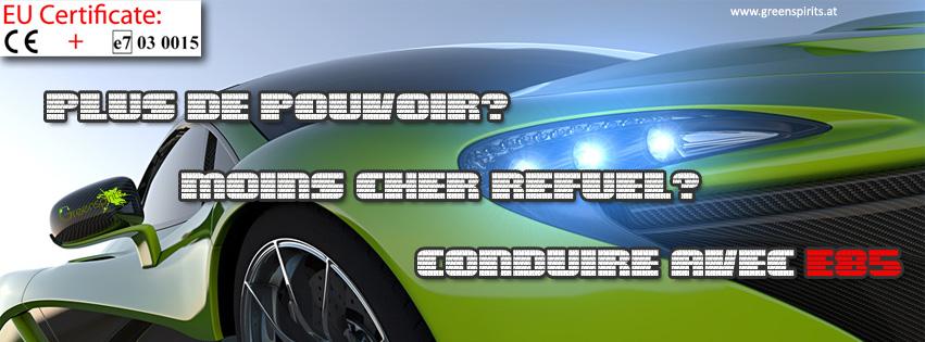 Greenspirits E85 conversion